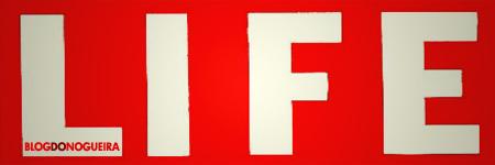 Logotipo da revista LIFE